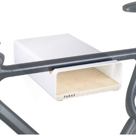 PARAX S-Rack Wandhalterung Aluminium weiß/beige